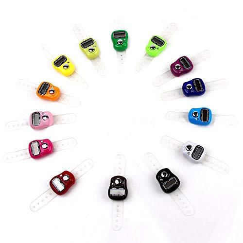 Nützliche elektronische Reihenzähler-Finger-Ring Digit Marker LCD Tally Zähler Kakiyi -