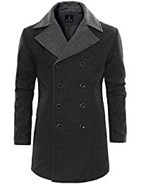 Tom's Ware Trench Manteau-Double Boutonnage-Hommes