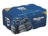 Mahou Sin Alcohol Cerveza Dorada Lager, 1% Volumen de Alcohol - Pack de 12 x 33 cl
