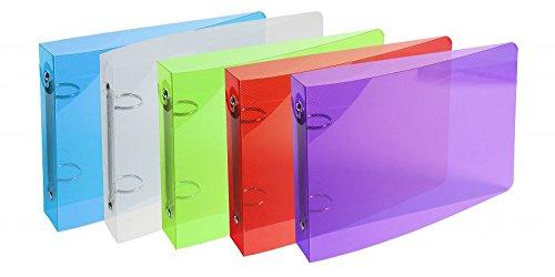 classeur-pour-fiches-bristol-125x200-2-anneaux-25mm-polypropylene-crystal-colours