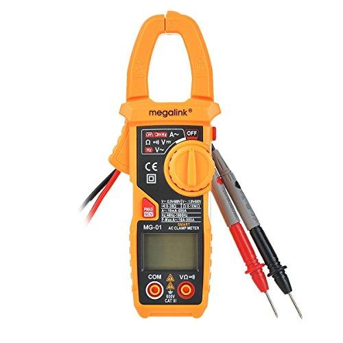 Preisvergleich Produktbild Generic Digital Multimeter MG-01 Spannungsprüfer Tragbare Multimeter Voltmeter Amperemeter Ohmmeter Batterietester (Messung von Spannung, Strom, Widerstand, Frequenz, Low Pass Filter, Peak, NCV berührungslose Spannungserkennung