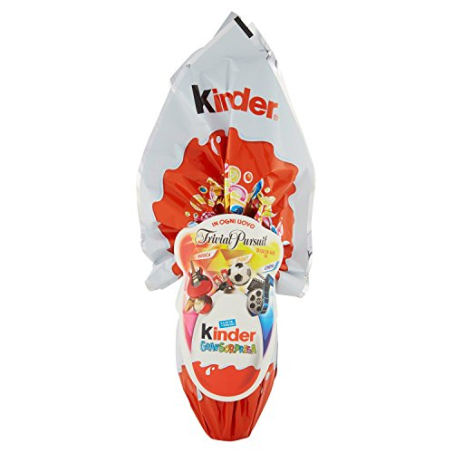 Kinder GranSorpresa - Uovo di Cioccolato FAMILY TRIVIAL PURSUIT - 150 GR