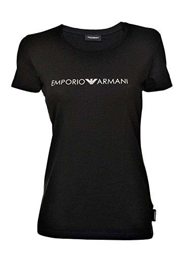 Emporio Armani Underwear Damen T-Shirt 163139, Schwarz (Nero 00020), 38 (Herstellergröße: M)