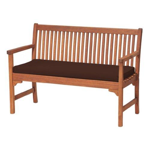 Sitzkissen für Gartenbank, bequem, leicht, Braun Ideal geeignet für die Nutzung im Haus oder Garten; hergestellt aus hochwertigem, wasserabweisenden Material.