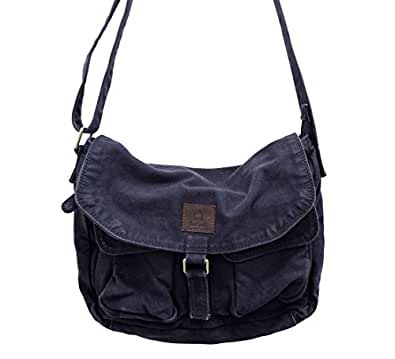 Le Craf Charles Blue Canvas Bag For Boys and Girls