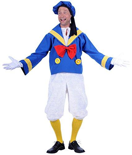 Enten-Kostüm in blau/weiß | Ente in Matrosen-Lock ()