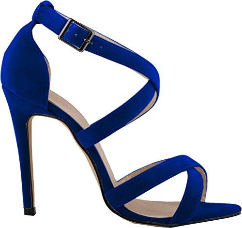 Salabobo , Peep-Toe femme Bleu