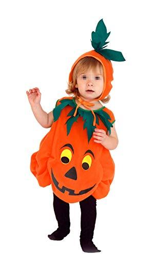 Kostüm Kleinkind Kürbis - CIPOPO Halloween Kostüm Kleinkind Baby Unisex Kürbis Faschingskostüme Cosplay Halloween-Kürbis-Kostüm Jumpsuits Kleidung für die Halloween-Kostüm-Partei(1-5T) (Kürbis, 110(4-5T))