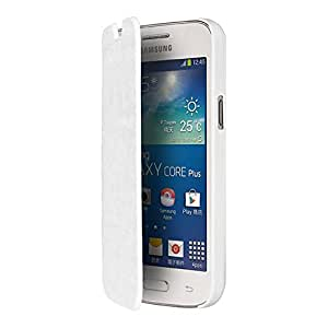 Blueway Etui pour Samsung Galaxy Core Plus Blanc
