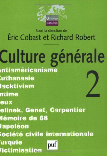 Culture générale, tome 2