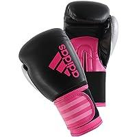 Adidas Hybrid 100Women Boxeo, Todo el año, Mujer, Color Schwarz/Pink, tamaño 8 oz