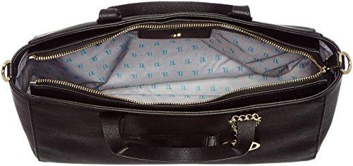 Trussardi Jeans Carry Over Ischia Sac à main noir schwarz