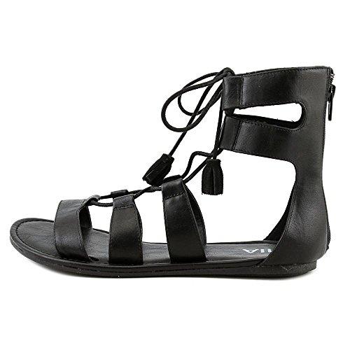 Mia Ozie Synthétique Sandales Gladiateur Black