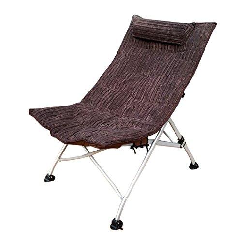 Qiangzi Strand Klappstuhl Recliner Stuhl Klappstühle Büro Nap Single Lounge Stuhl Kinder...