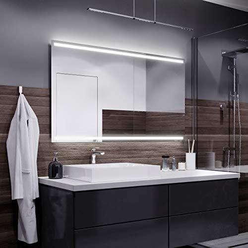 Espejos con Luz - 90x80cm - Diferentes tamaños - Espejo de Baño con Iluminación LED - Modelo Denver...
