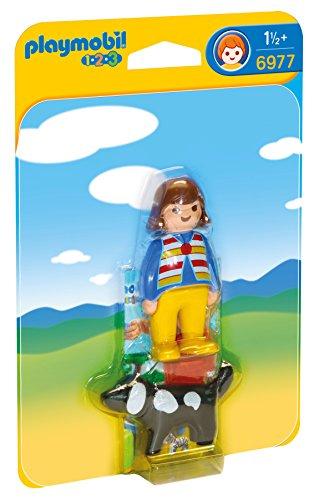 Playmobil 6977 - Donna con Cane, Plastica