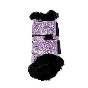 10032 HKM Gamaschen Comfort Glitter , Größe:M, Farbe:3900 pink