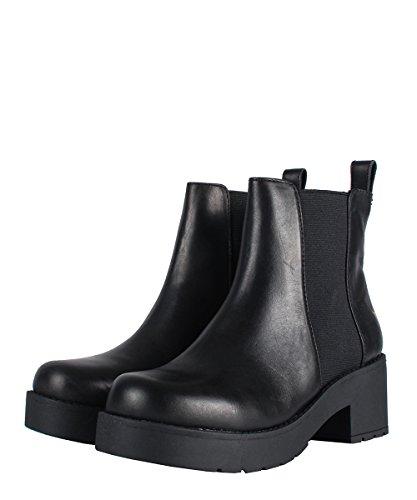 Windsor Smith Eagar Boots Black - Stivaletti Neri In Pelle Con Elastico Black