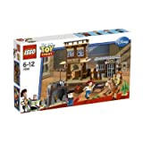 WOODY'S ROUNDUP * LEGO 7594 * Disney / Pixar Toy Story Series 502pcs Building Set by Toy Story