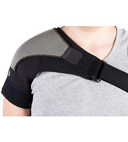 Schulterbandage für AC-Gelenke & Sehnenentzündungen | Schulterstütze zur schmerzlinderung & Schutz vor Verletzungen | Kompressions-Eispackung für die Schulter | Einzelne Schulterstütze für Rotatorenmanschette Bandage für Frauen & Männer, von Astorn