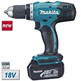 Makita DDF453SFE Perceuse visseuse + 2 Batteries 18V 3Ah Li-ION + Coffret