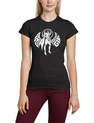 DC Universe Damen T-Shirt Gotham Girl Schwarz - Schwarz