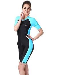 4bbd6b2da9f89 Fortuning s JDS®®® New Sun-protection UPF50+ One Piece Short-sleeve  Snorkeling