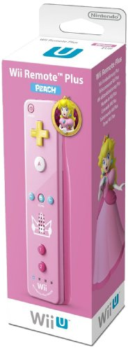 Nintendo Wii U und Wii - Remote Plus, pinkes Peach Design (Plus Remote Pink Wii)