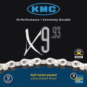KMC X-9-93 6 speed chains