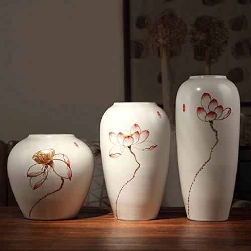 Meters Vase en céramique Décoration salon moderne Étagère de télévision bougies à sec décorations à la maison