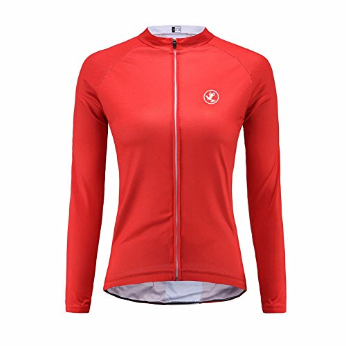 Uglyfrog Bike Wear Radsport Bekleidung Damen Langarm Trikots & Shirts Herbst Winter Style with Fleece (Bike-cannondale Damen)