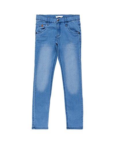 NAME IT Jungen Jeans Nkmsilas Dnmcomo 3012 Pant Camp, Blau (Dark Blue Denim), 152