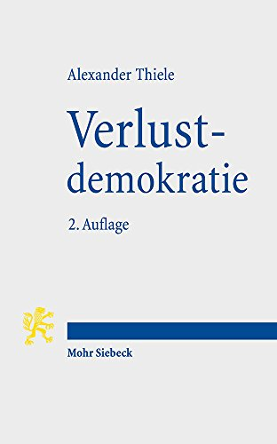 Verlustdemokratie: Die drei Verlustebenen der Demokratie