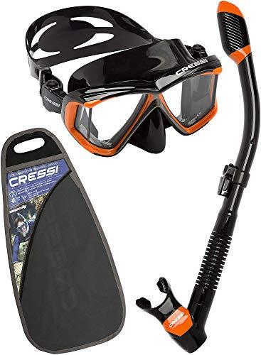 Cressi Pano4&Dry Kits Máscara Tubo