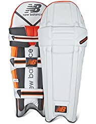New Balance DC 880almohadillas para bateador de críquet, color naranja, tamaño LHM