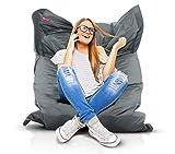 Roomox Original Sitzsack-120x160cm-für drinnen & draußen XXL Sitzsack