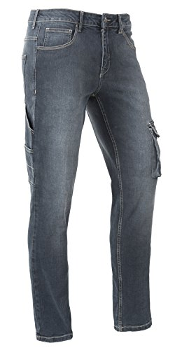 Brams Paris Arbeitshosen Jeans David R12 Stretch Jeans -