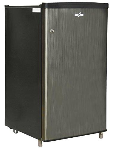 Kenstar NH090PSH-FDA/NC090PSH-FDW Direct-cool Single-door Refrigerator (80 Ltrs, Silky Grey / Silver Hairline)