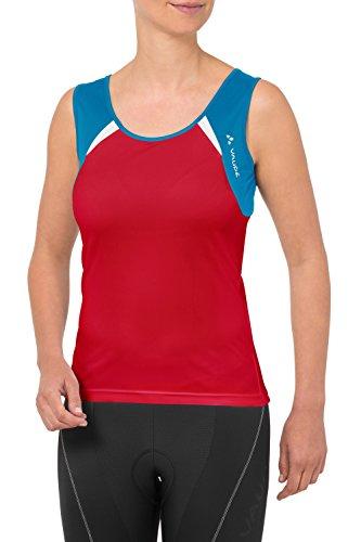 Vaude Advanced Tricot T-Shirt sans manches Femme rouge