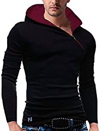 Seven Rocks Men's Cotton Hoodie T-Shirt