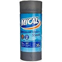 Mical Bolsas de Basura - 55 x 60 cm- 30 Unidades