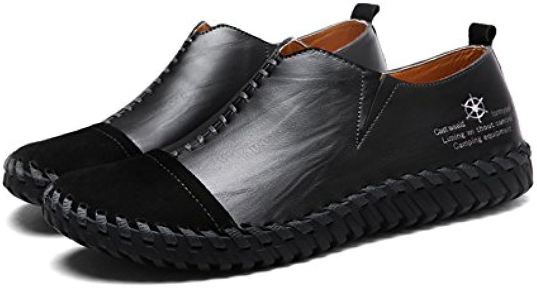 Zapatos de Hombre Mocasines Planos de Cuero/PU Primavera/Otoño/Invierno Mocasín y Zapatos de Hombre Confort Zapatos  -