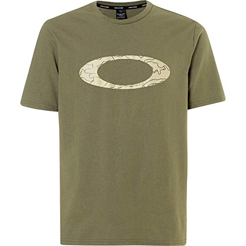 Oakley T-Shirt Ellipse Line Camo Oliv Gr. L