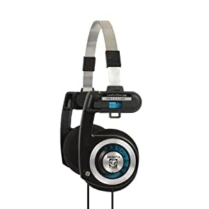 Koss Porta Pro Stereophones (3.5 mm Jack) for iPhone/iPad/iPod/MP3 Players/Samsung/Smartphones - Black | Silver