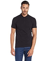 United Colors of Benetton Mens Polo (8903975355903_17P3DTPJ3033I_XL_Black)