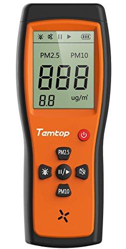 Qualità dell\' aria laser Paticle rilevatore professionale misuratore di precisione test per pm2.5/PM10LCD Display P200