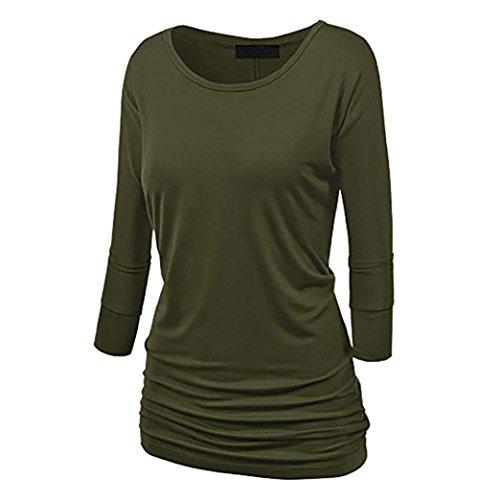 ESAILQ Damen T Shirt Bluse Tank Top Damen Camisole Sommer Lose Weste Schwarz Blau Rosa Große...