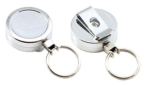 1-chrome-retractable-key-reel-nylon-cord-key-ring-holder