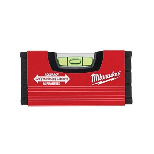 MILWAUKEE Wasserwaage Mini 10 cm (Minibox Level) 4932459100