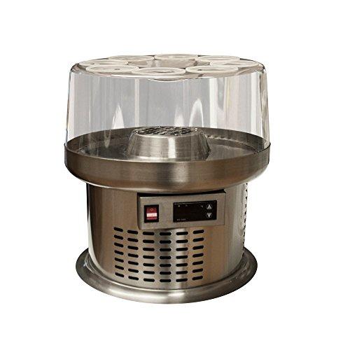 plenti design WEINKÜHLER - Weinkühler bis zu 8 Flaschen - LED Anzeige - Edelstahl
